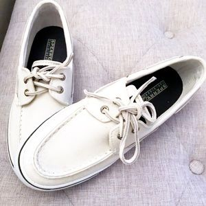 Sperry Top Sider Women's Deck / Canvas Boat Shoes
